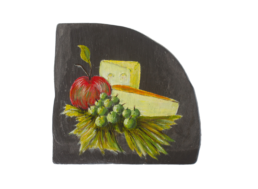 Hand Painted Cheese Platter